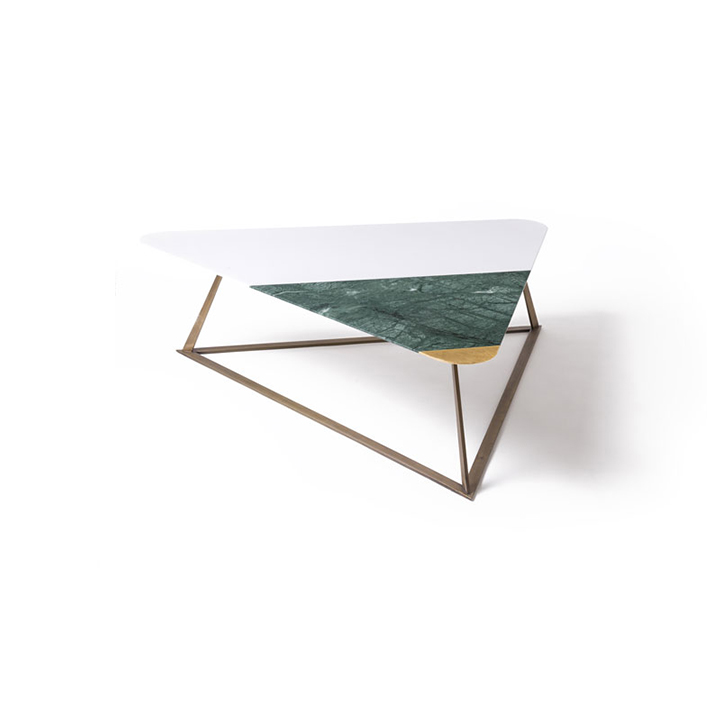 Triangle Marble coffee Table