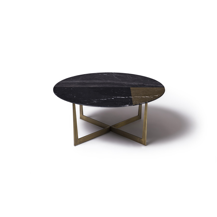 Gold Radius marble table