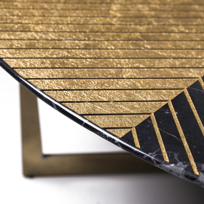 Gold Radius Nero Marquina