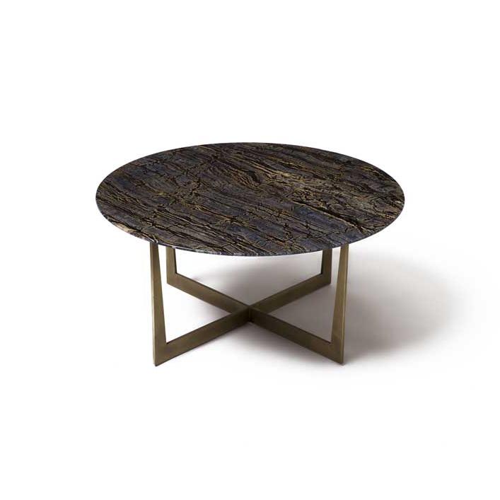 Illuminizer round coffee table