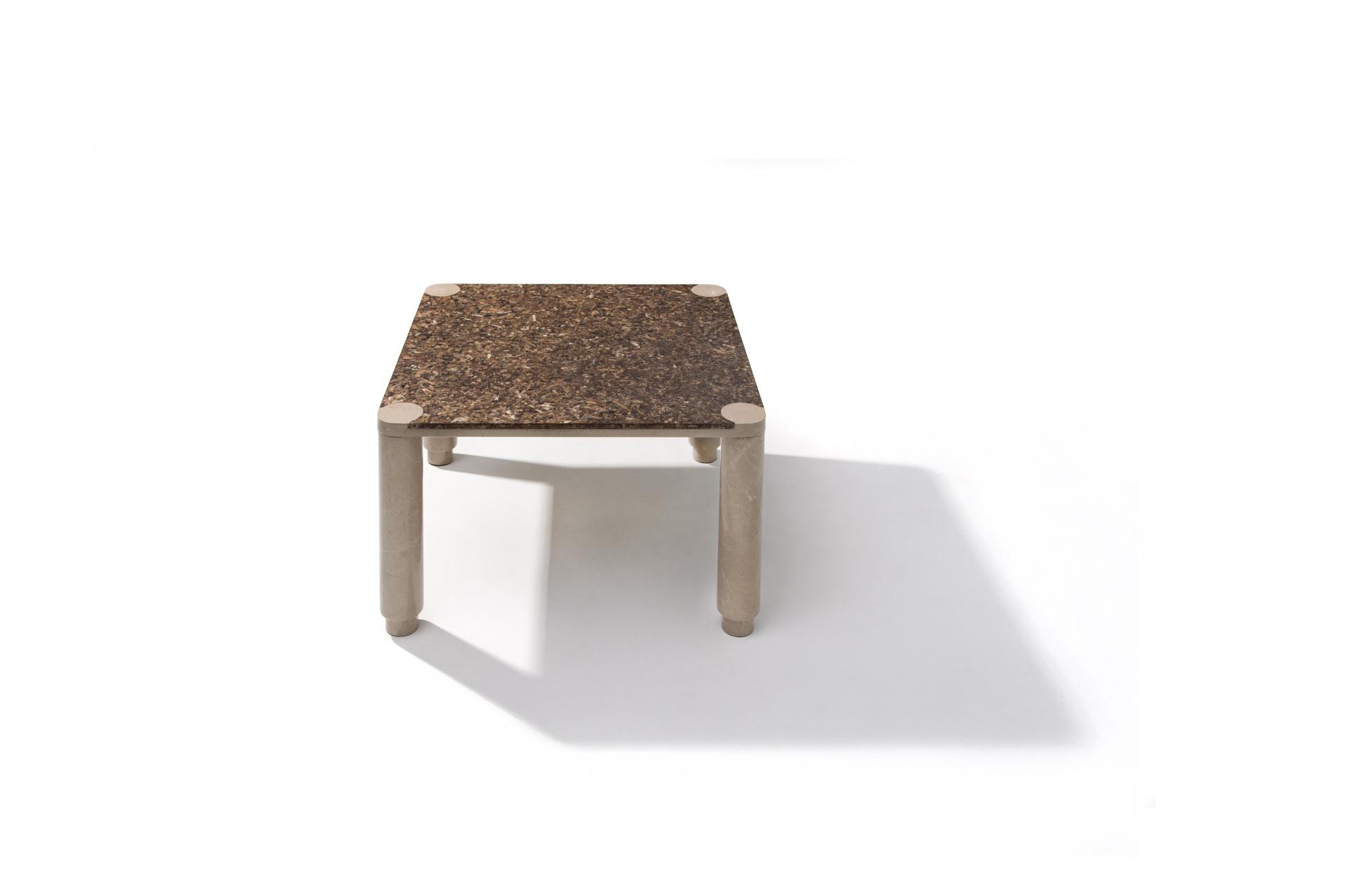Oceanus square coffee table