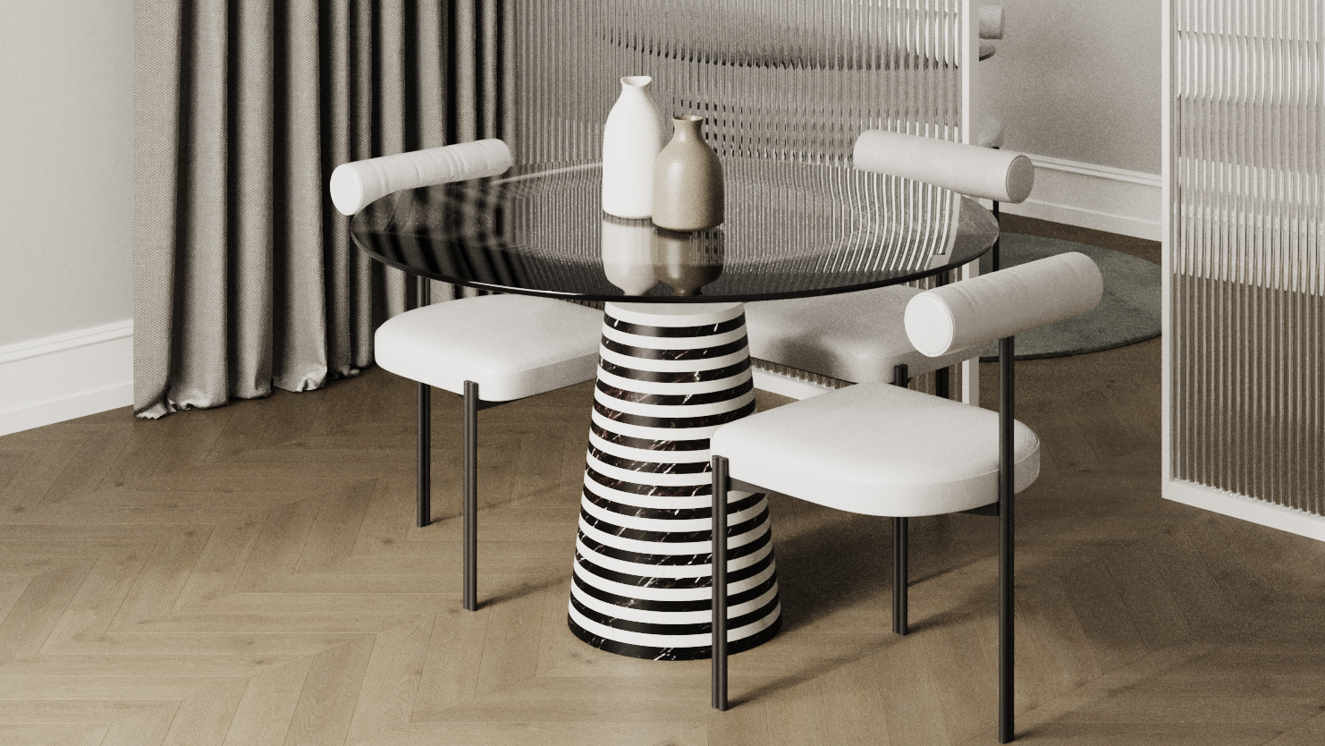 Orbit Dining Table cover